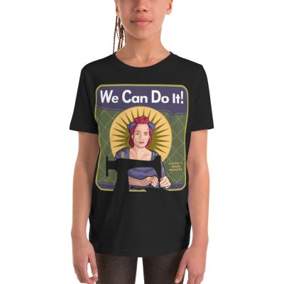 Mindy the Mask Maker— Youth Short Sleeve T-Shirt