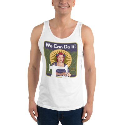 You Can Do It! Mindy the Mask Maker — Unisex Tank Top